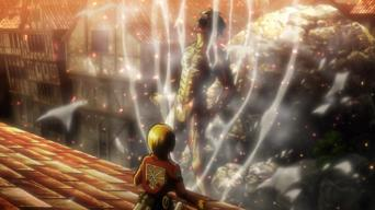Attack on Titan: Season 1: Primal Desires: Battle of Trost District, Part 9