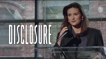 Is Disclosure 1994 On Netflix India